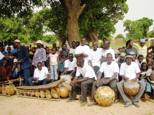 Balafon au village